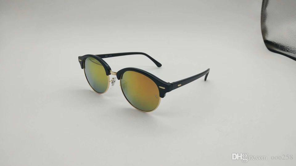Sunglasses> Product detail Fashion Sunglasses Men Women Sun Glasses Brand Designer Justin Mirror Gafas de sol