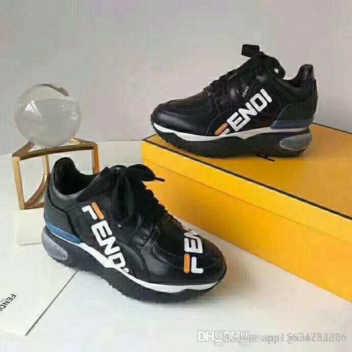 15e2d1257d1 Compre 2018 Modelo De Qualidade Superior Rainha Sapatos Venda Quente Marca  Homens E Mulheres De Couro Genuíno De Alta Qualidade Sapatos Frete Grátis  Witn ...