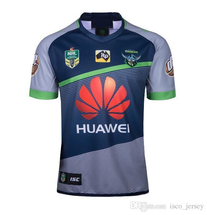1e0b2bf7c2b New CANBERRA RAIDER S 2018 2019 Home Away Rugby Jerseys NRL National ...