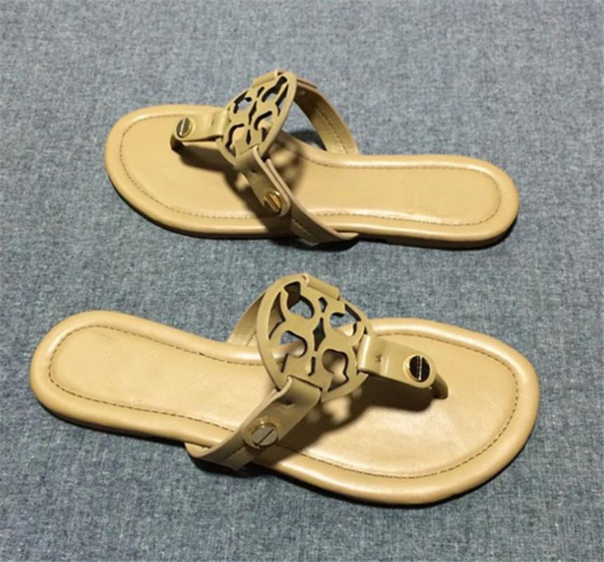 fb6fa7fe5 Women Designer Sandals Tory Classic Style Comfortable Flip Flops ...