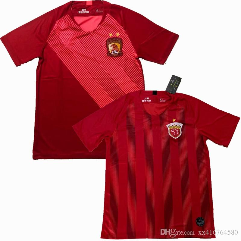 c4f861085 2019 2019 Guangzhou Evergrande Taobao Shanghai SIPG Football Club Jersey 19  20 Chinese Football Association Super League Football Shirts S 2XL From ...