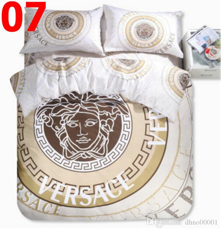 2020 Bedding cotton bed four-piece quilt set piece student one-piece three-piece bedding set free of freight