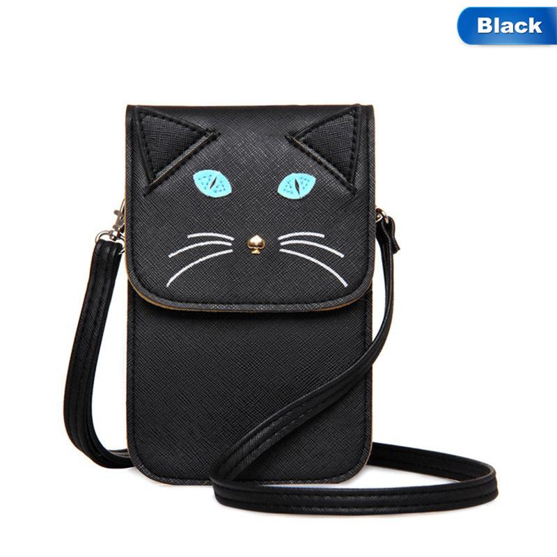 c313751bcb55 Cheap Shoulder Bags Girl Mini Bags For Women Women Baby Popular Cute Cat  Cute Fox Face Solid Color Cross Body Hand Bags Evening Bags Leather Goods  From ...