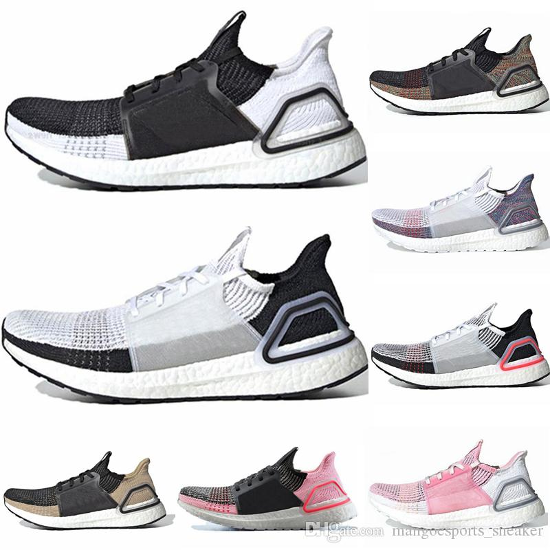 8d56f7b7fd2 2019 New Ultra Boosts 19 B37704 Mens Laser Red Shoes Oreo Ultraboost 4.0  5.0 Uncaged Women 19W UB Shoes Size 36 45 Stability Running Shoes Running  Shoes For ...