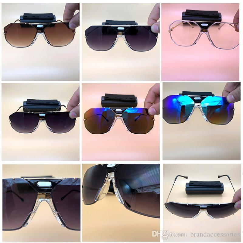 c8d1bebca6 Metal Square Sunglasses Luxury Brand Designer Sun Eyewear Cheap ...