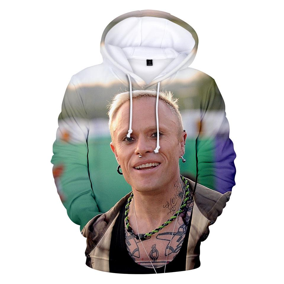 Keith flint Mens 3D Designer Hoodies Spring Autumn Fashion Hooded Harajuku Sweatshirts Pullovers