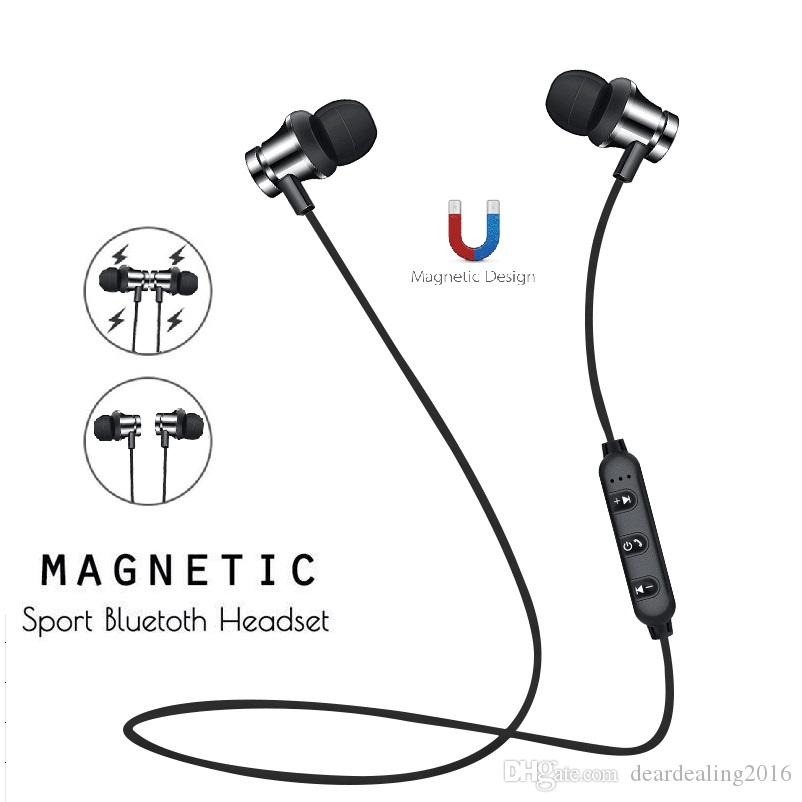 Magnetic Music Wireless Bluetooth Headphones For iPhone Xiaomi Huawei Android Phone Neckband XT11 Sport CSR Bluetooth Earphone with Mic