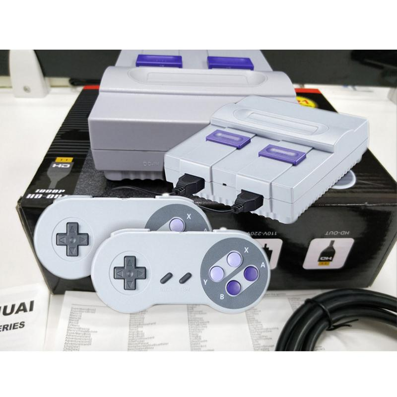 HDMI Out TV Video Super Mini SN-02 821 Game Console Handheld Consoles Childhood For HD NES SFC Retro Games Christmas Xmas Gift TF Card