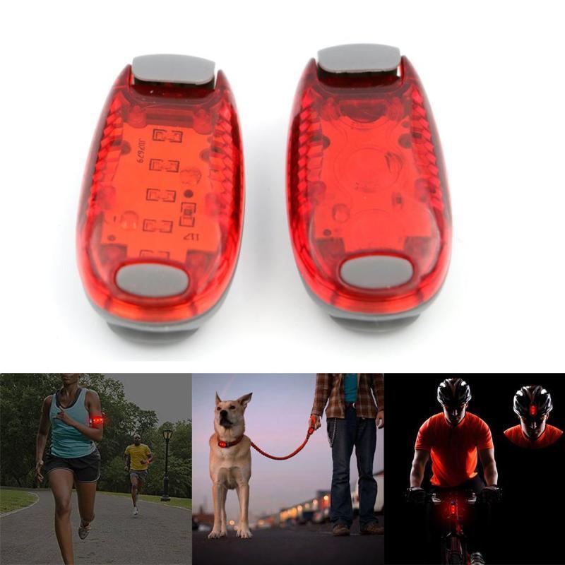 Acheter 5 LED Mini Pince Lumineuse Pour Le Cyclisme De Course À Pied  Jogging Avertissement De Sécurité Lampe De Poche Lampe De Poche Pour Le  Cyclisme De ... 146113951b0