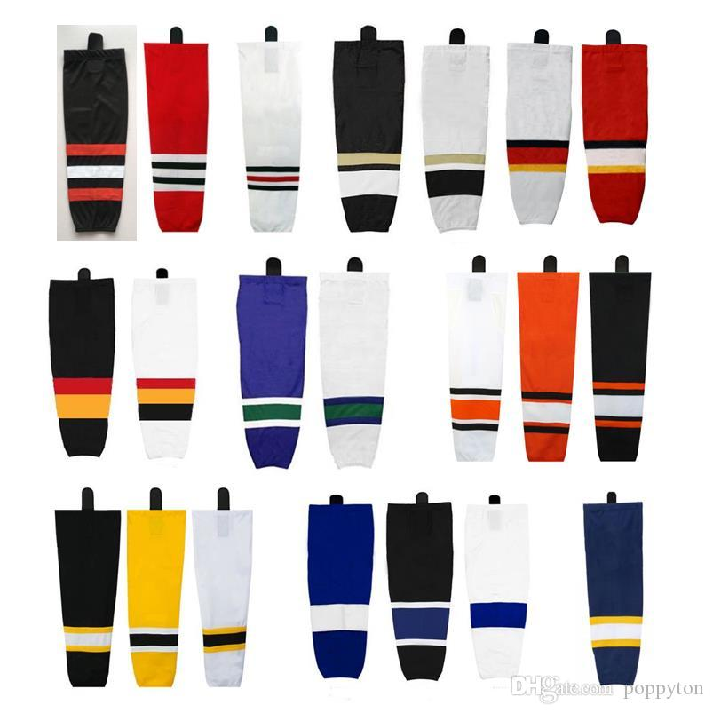 ce9b2eaef 2019 Custom Hockey Socks Training Ice Hockey Socks For Child And Adult  Practice Hockey Socks High Quality XS S M L XL XXL From Poppyton