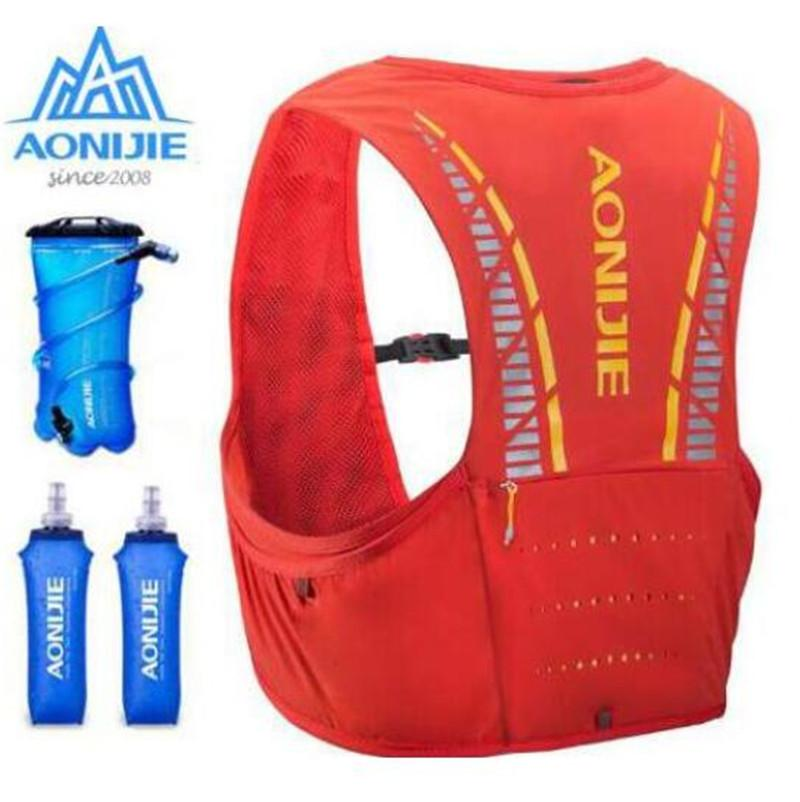 a65b1a70ad 2019 AONIJIE 5L Trail Running Hydration Vest Backpack Hiking Cycling  Camping Marathon Rucksack Bag Water Bladder Running Race From Quintin,  $69.31 | DHgate.