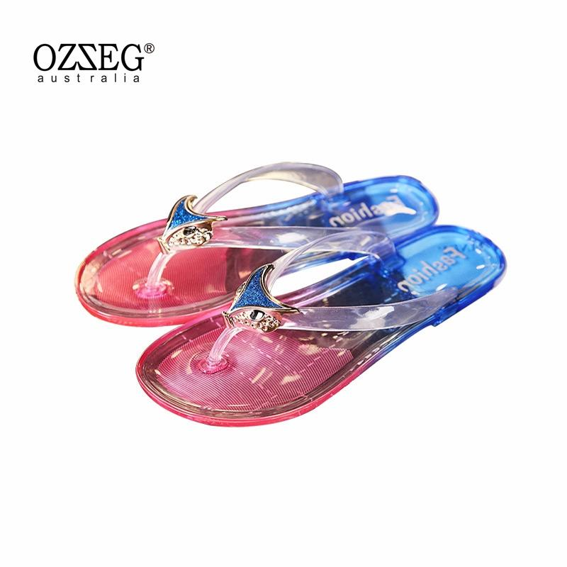 c6cf08fe0df Flip Flops Women Sandals Flat Gladiator Colorful Wedges Ladies Sandals  Women Summer Shoes Designer 2018 Shoes Woman Slippers Womens Sandals  Walking Boots ...