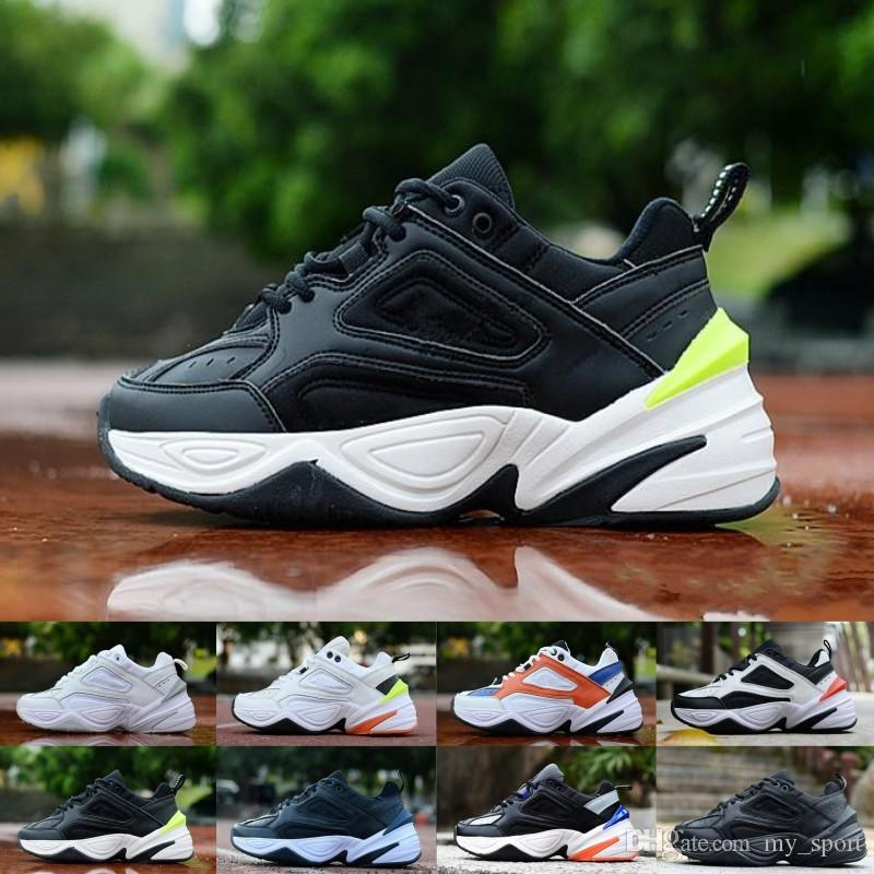 Hot Sale M2K Tekno Old Dad Mulheres Homens Running Shoes Triplo Clássico Moda Sports Black White Grey Designer Zapatillas sapatilha