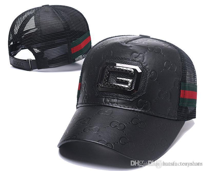 07e61f3c86f691 hot sale Men's Angels Fitted Hats brown Flat Brim Hat Gorras Bones  Masculino Sport Summer Size Caps Chapeau Cheap Men's Womens Spo