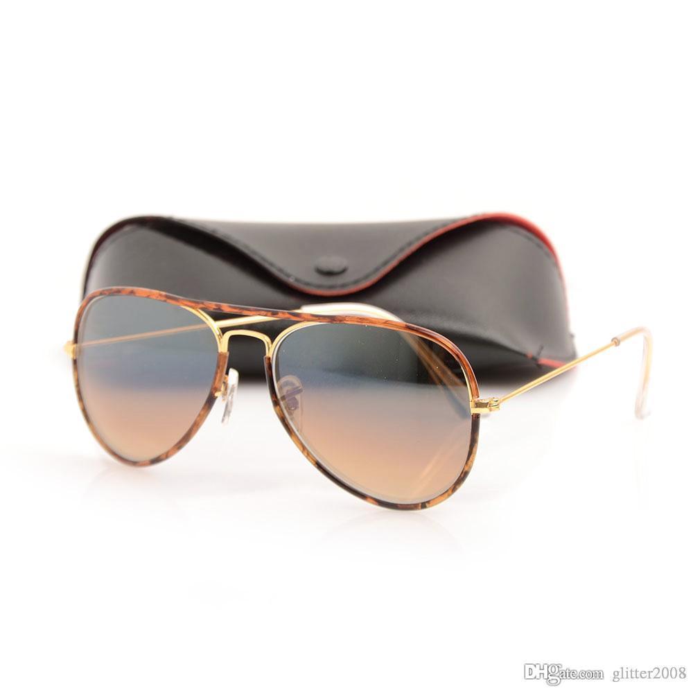 615802b881e9 High Quality Brand JM Pilot Sunglasses Brand Designer Sun Glasses Metal For Mens  Womens Glasses Mirror Glass Lens UV Protection Sun Glasses Glasses Online  ...