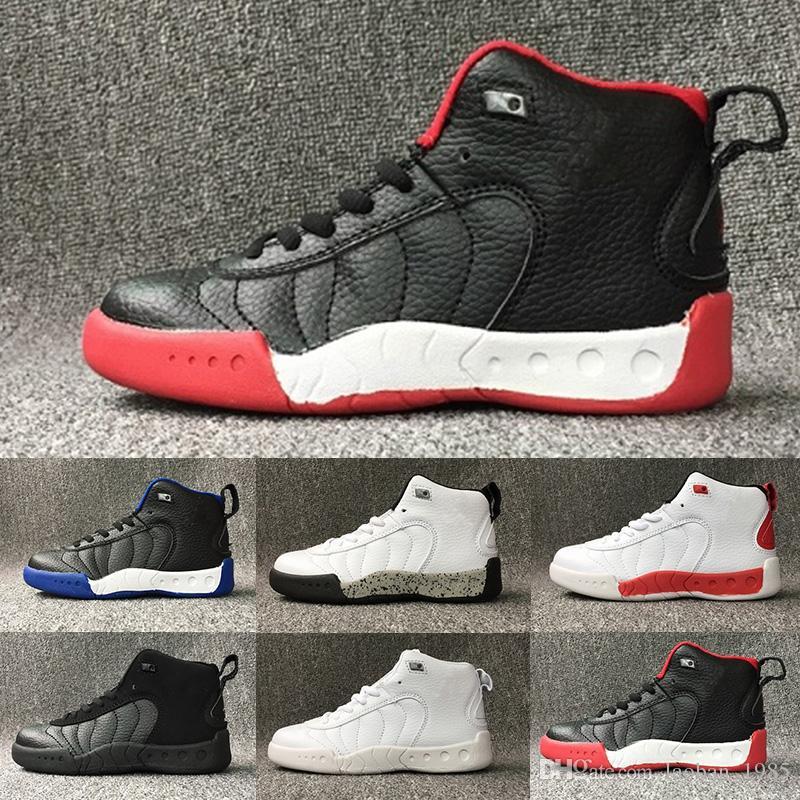 newest 0a548 74505 Großhandel Nike Air Jordan 12 Retro Kinder Großer Junge Beschuht Freies  Verschiffen XII Gs Rosafarbene Limonade Basketball Schuhfrauen Der Kinder  12s ...