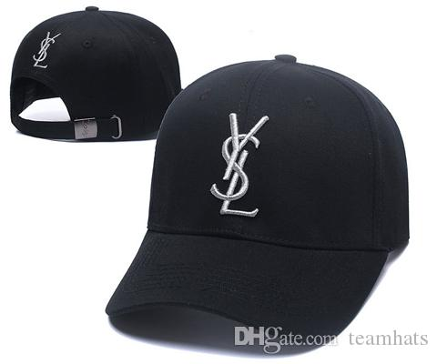 2019 France Spring Summer Baseball Cap Men Women Outdoor Designer Hats Y S  L Letter Adjustable Hip Hop Hat New Truck Cap Golf Cap Blue Custom Hat Caps  For ... 7b5e2f78bbc