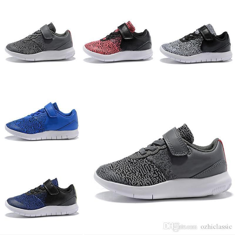 Flex Enfants Marche Garçon Chaussures Gratuites De Nike Fille Pour Contact Course fygb76