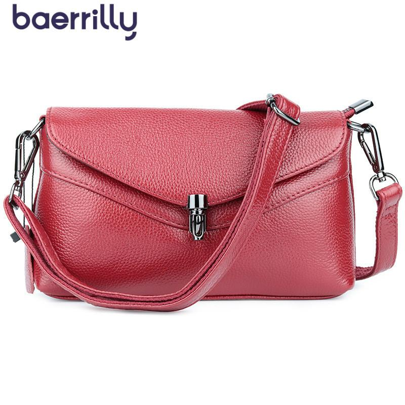 f2b788793405 2019 New Genuine Leather Handbags Women Wallets Money Pockets Shoulder Bag  Luxury Brand Crossbody Bag For Female Long Clutch Cheap Designer Handbags  Women ...