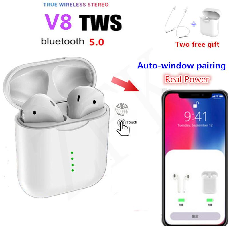 7feb59c3283 V8 Newest Wireless Earbuds Bluetooth Earphones Drop Shipping In Shenzhen  China Touch 5.0 Headset Cheaper Than I10 I12 Tws Bluetooth Headset Cell  Phone Cell ...