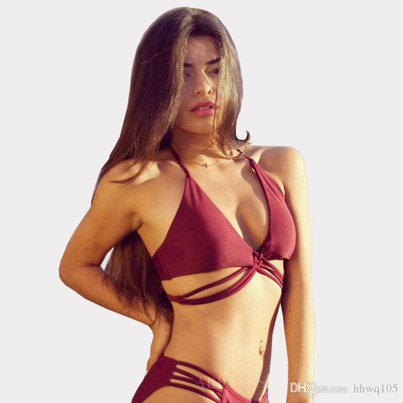 Sports & Entertainment Sporting 2019 New Europe And The United States New Sexy Bikini Belt Push High Chest Sexy Swimwear 4 Color Bikini Ladies Swimsuit Swimsuit To Be Distributed All Over The World