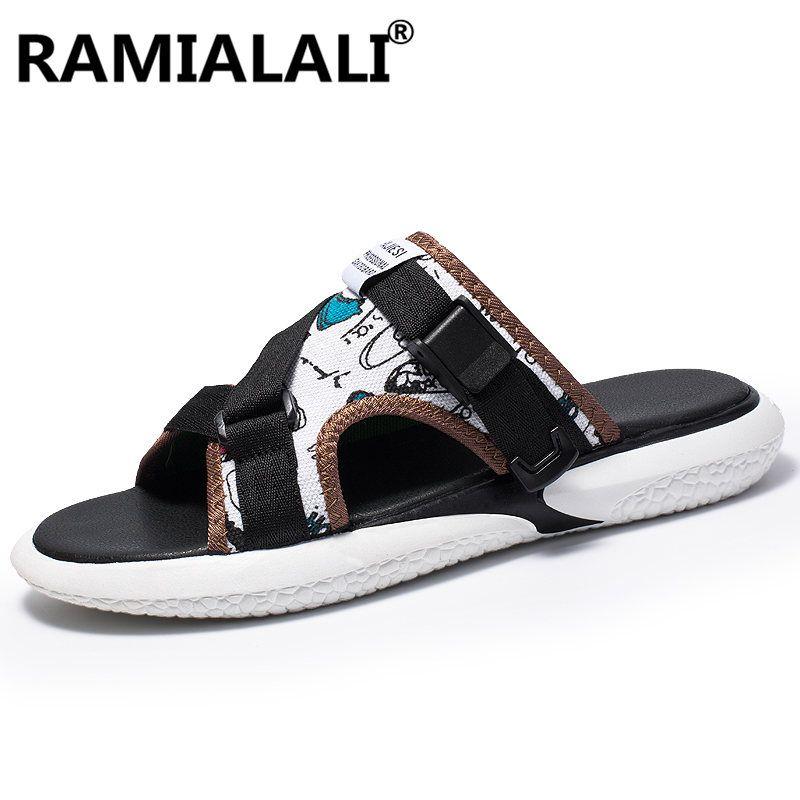 3f2ccef87dcf Ramialali New Fashion Sandals Men Shoes Man Beach Sandals Casual ...