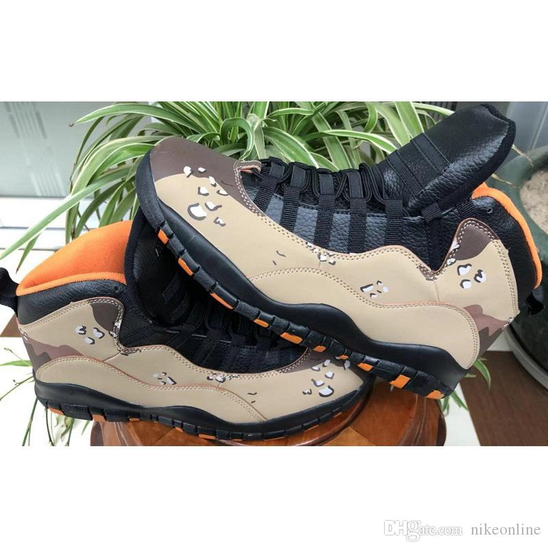 238f3657ad8e4a 2019 Cheap Mens Retro 10s Basketball Shoes Aj10 Camo Racer Blue Black White  Ovo Gold Cool Grey Youth Kids Jumpman X 10 Sneakers Boots With Box From ...