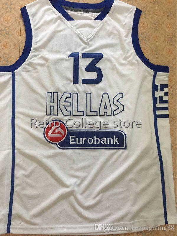 00c4f3032a8 2019 GIANNIS ANTETOKOUNMPO  13 TEAM GREECE Hellas Eurobank High Quality Retro  Mens Basketball Jersey Custom Any Name And Number From Hezongming88