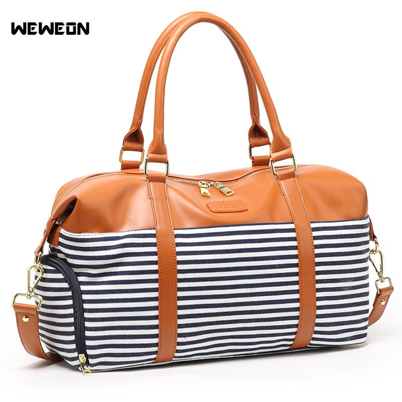 079fb8529add 2019 Outdoor Stylish Women PU Leather Sports Bags Canvas Gym Bag For Shoes  Girl PU Travel Duffle Handbag Luggage Bag Sac Sport Bolsa From Mangosteeng