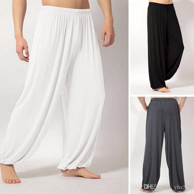 09f9b63ea0 2019 Ladies Men Harem Pants Baggy Bohemian Boho Hippie Yoga Genie High  Waist Trousers #849518 From Yhx520, $28.88 | DHgate.Com