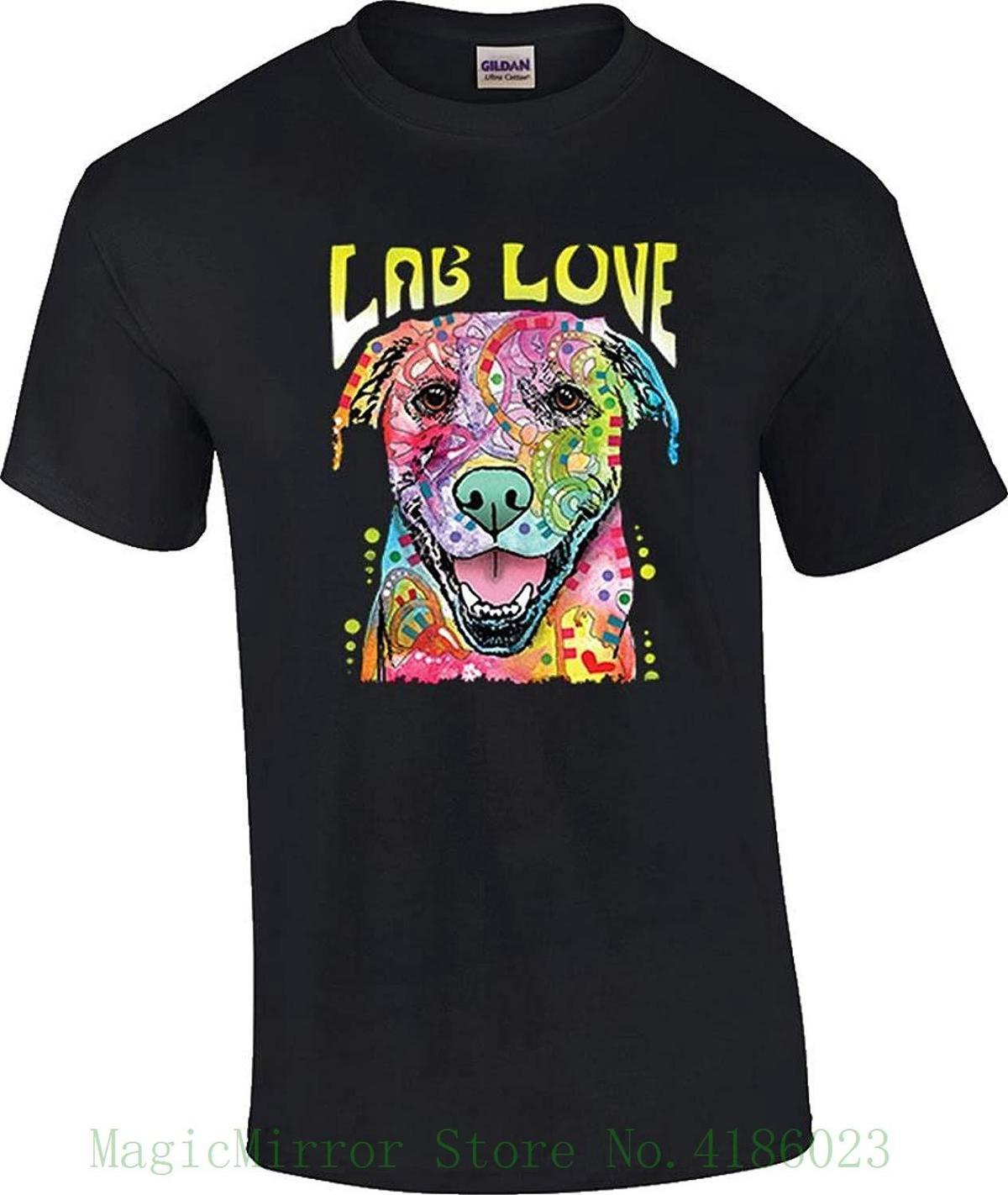 d417fbc8a65e Men S Chocolate Yellow Black Lab Love Dog T Shirt Good Quality Brand Cotton  Shirt Summer Style Cool Shirts Coolest T Shirt Shirts With Designs From  Jie11