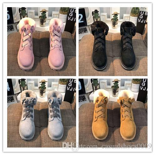 Hot sell 2019 High Quality WGG Australia Women's Classic tall booties Pink black earth yellow gray Womens boots Snow Winter leather boot