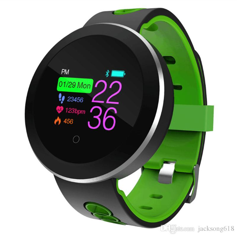 New Arrival Q8 Smart Watch Smart Fashion Electronics Waterproof Sport Tracker Fitness Bracelet Smartwatch Wearable Device wholesales