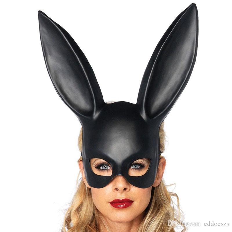 Rabbit Mask Fashion Easter Masquerade Mask Bunny Rabbit Face Mask Height  Long 36cm For Birthday Party Easter Halloween Costume Masquerade Party Masks  For ...