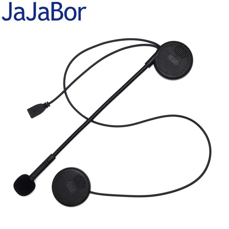 JaJaBor 3rd Generation Motorcycle Helmet Headset Wireless Bluetooth on