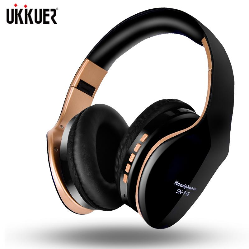 New Wireless Headphones Bluetooth Headset Foldable Stereo Headphone Gaming Earphones With Microphone For PC Mobile phone Mp3 T190921