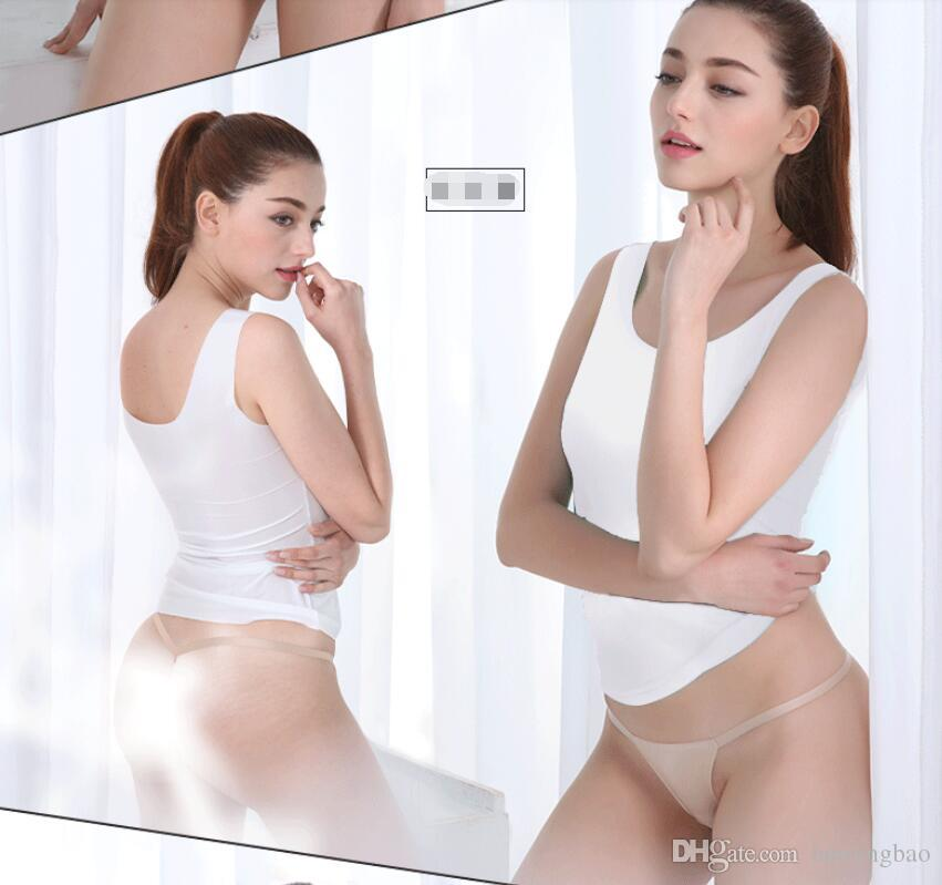 5957973e15b Women s Thongs 2018 Women s Underwear One Piece of Temptations Slim T-Shirt  Bikini Hot Hairy Dazzling T-Shirt M---XXL Sexy Panties Female Thong Panties  ...