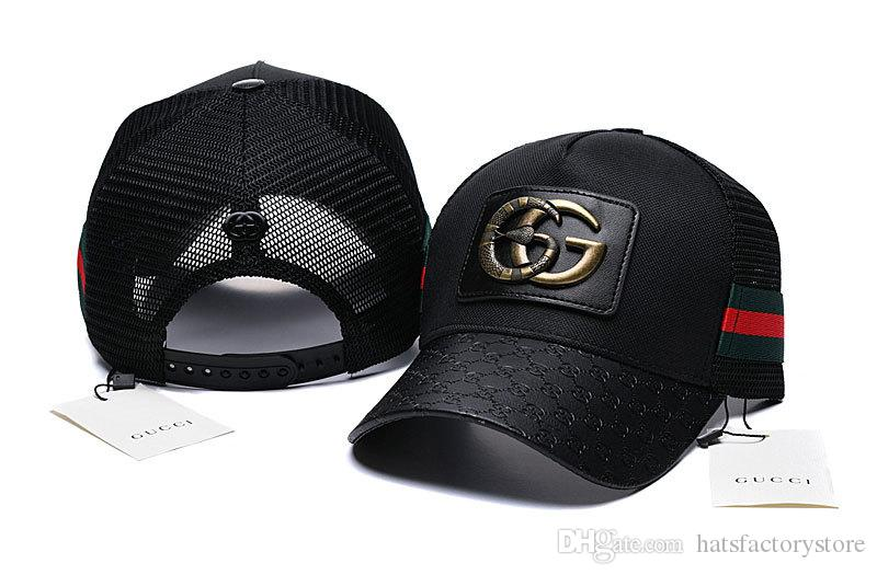 561ba6509a6 Designer Baseball Caps New Brand Tiger Head Black With Gold Logo Hats Gold  Embroidered Bone Men Women Casquette Sun Hat Gorras Sports Cap Visors  Millinery ...