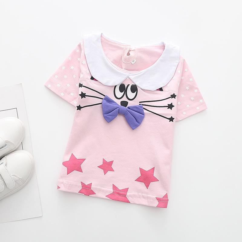 c715b5b649eb 2018 Kid T Shirt Cute Baby Summer Clothes New T Shirt Summer Top Tshirt  Kids Clothes Girls Tops Tshirts Baby Girl Summer Clothes UK 2019 From  Cynthia03