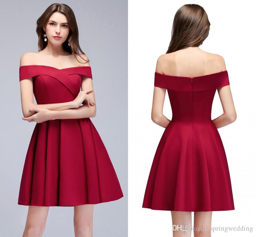 De Nouveau Soirée Épaule Cher Rouge Robes Conçu Pas Acheter DIH2E9W