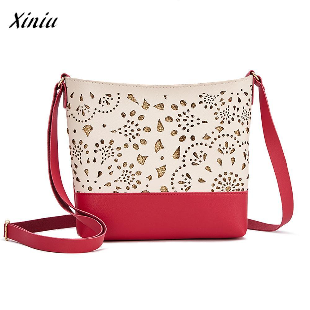 4a5d2fd95f86 Xiniu Luxury Handbags Women Bags Designer Hollow Candy Color One Shoulder  Small Zipper Square Phone Bag For Teens Girls Men Bags Handbag Wholesale  From ...