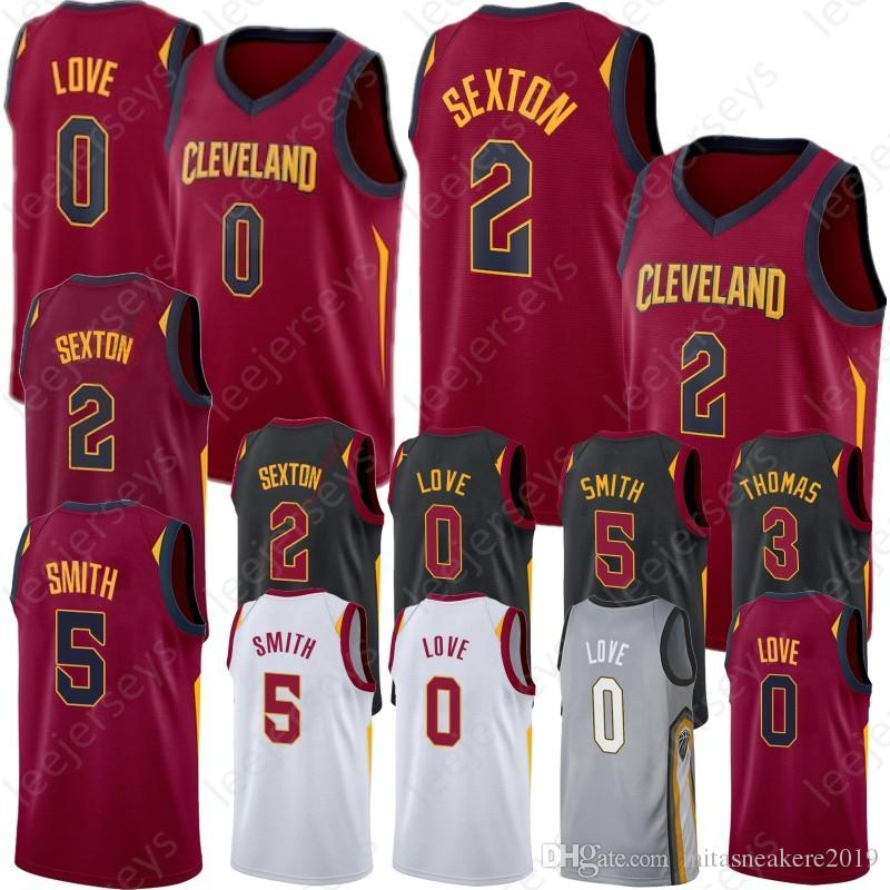 38e7598f1e8 2019 0 Kevin Love Cleveland 2 Collin 5 JR Sexton 23 LeBron Cavaliers Smith  James 3 Hill George 9 Wade Dwyane 1 Rose Derrick Basketball Jerseys From ...