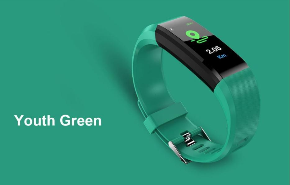 115 Plus Smart Band hr Heart Rate Monitor Smart Bracelet Step Counter id  115 Veryfit Wristband For IOS Android