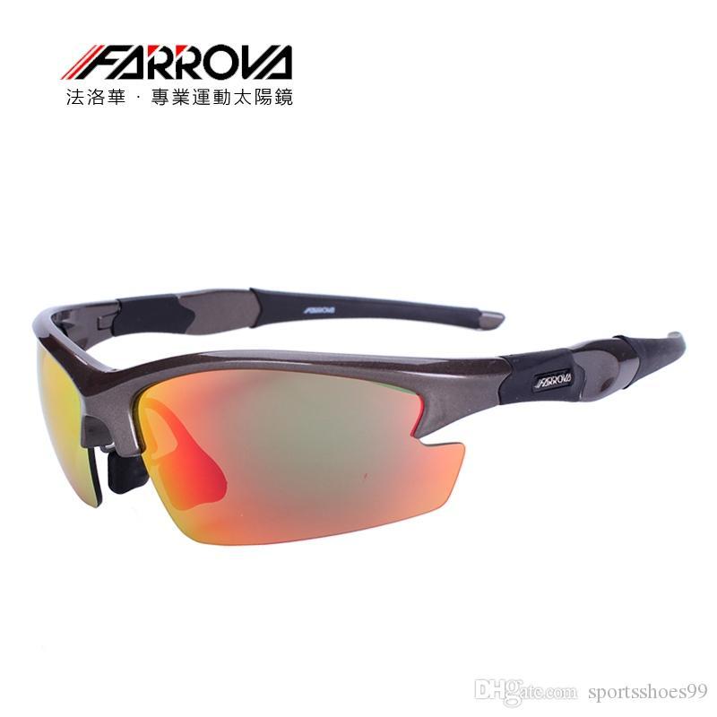 20dda574a19 FARROVA Sports Eyewear Polarized Road Cycling Eyewear TR90 Sunglasse ...