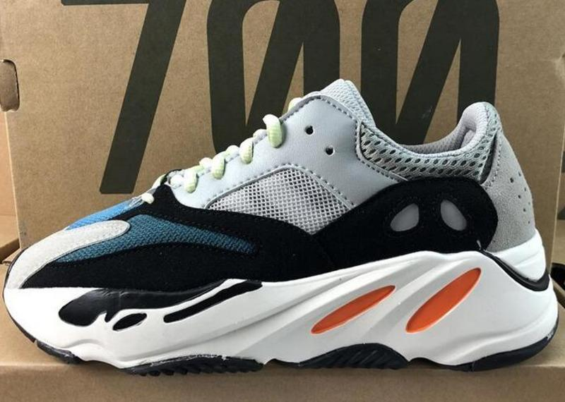 (With Box) 2019 New Kanye West 700 Best Quality Classic Shoes Wave 700  Sports Training Shoes Sneakers eur 36-45