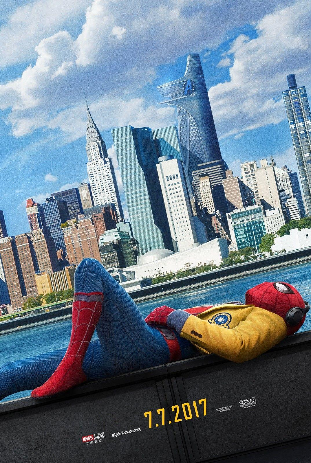 Spiderman Homecoming 2017 Marvel wall decor Art Silk Print Poster 97
