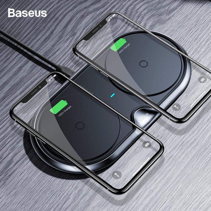 baseus dual wireless charger for iphone x xs max xr samsung s9 s8 rh dhgate com