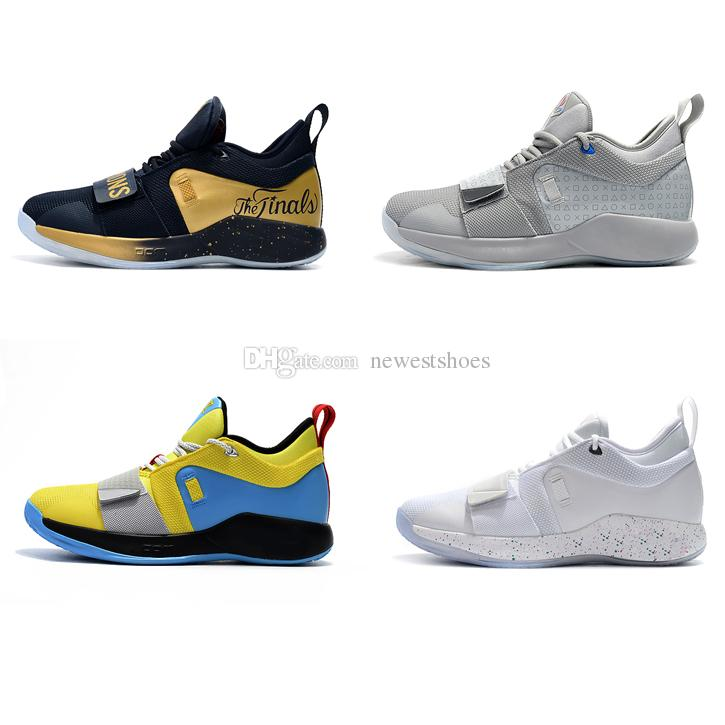 paul george chaussures jaune
