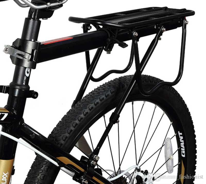 Mountain Bike Carrier Cargo Rear Rack Shelf Bicycle Seat Luggage Steel Rack Can Load Free Shipping