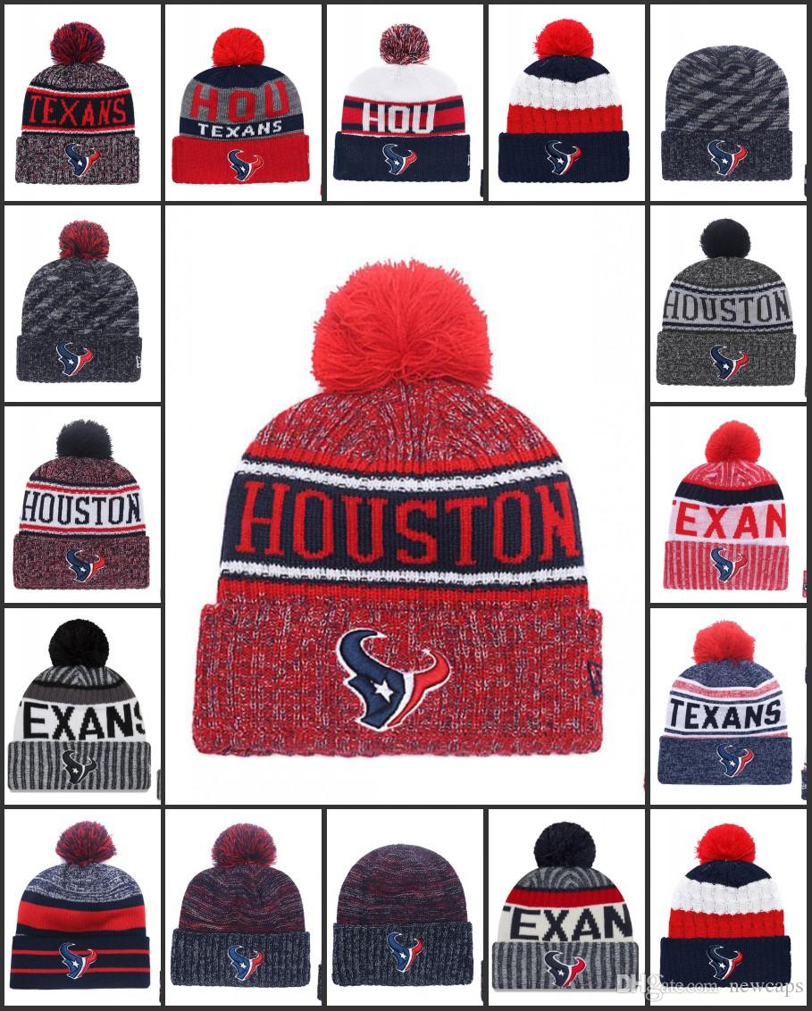 Wholesale Houston Sport Winter Hats Texans Stitched Team Logo Brand Warm  Men Women Hot Sale Knitted Caps Cheap Mixed Beanies Hat Stores Custom  Trucker Hats ... cd66a217022